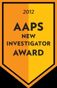 2012 AAPS New Investigator Award