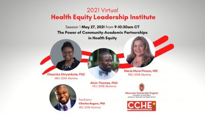 2021 Virtual Health Equity Leadership Institute