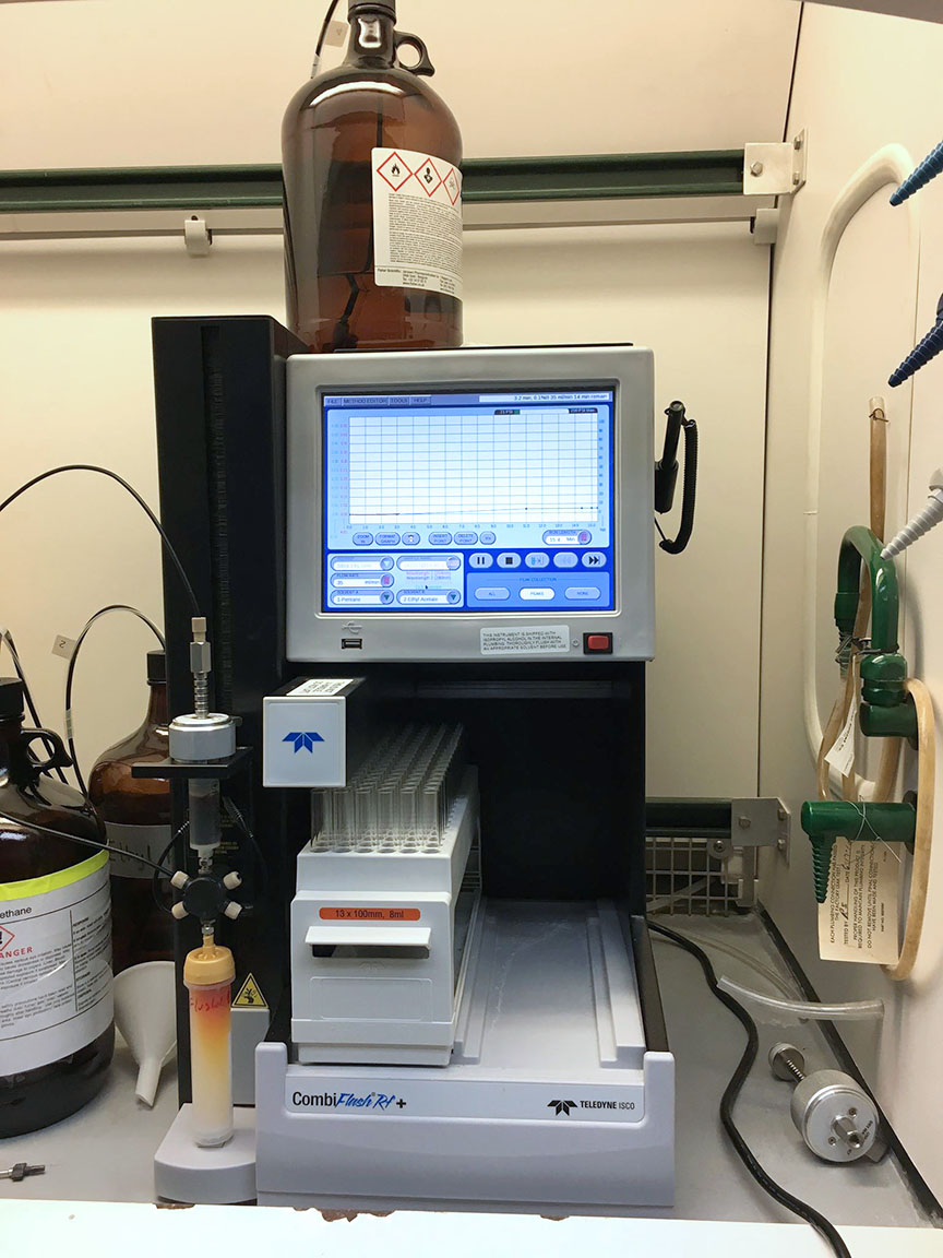 CombiFlash system - Medicinal Chemistry Center