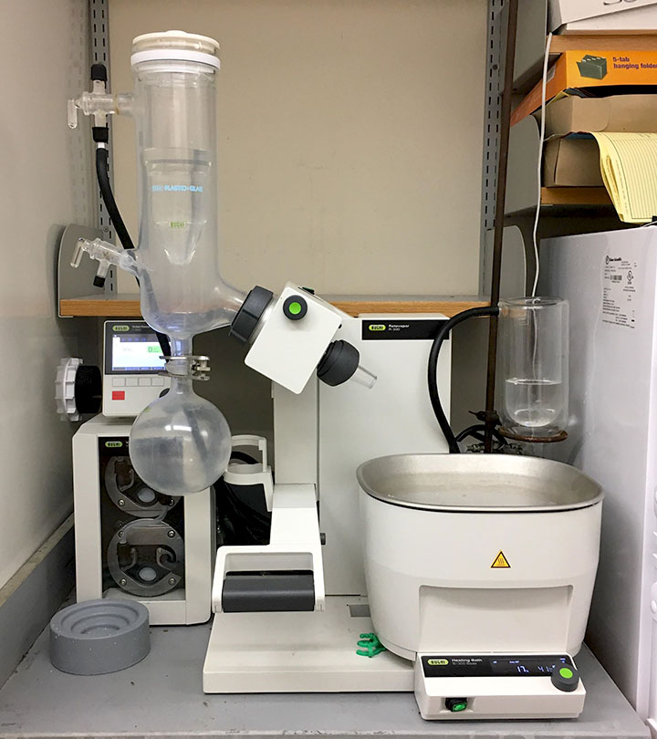 Rotovap with vacuum control - Medicinal Chemistry Center