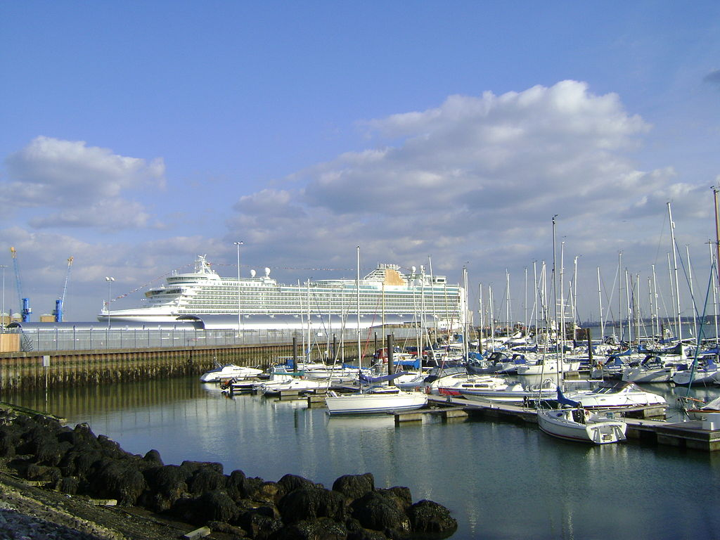 Southampton Port; Photographer: Jim Linwood
