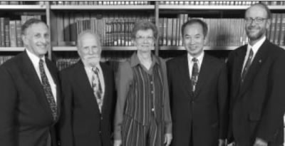 UW Citations recognized outstanding alumni Kenneth Connors Ruth Havemeyer, Vincent Lee, and John Bohlman. They were presented by Dean Mel Weinswig
