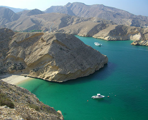 Sea in Oman