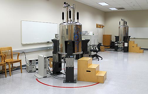 AIC's NMR Spectroscopy FacilityThe SoP's Analytical Instrumentation Center (AIC) has an NMR Spectroscopy facility that is available to us - (http://pharmacy.wisc.edu/aic/nmr-spectroscopy-facility)
