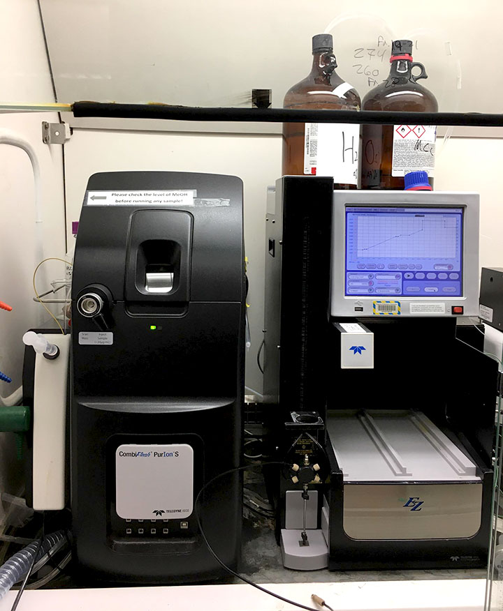 EZ Prep machine - Medicinal Chemistry Center