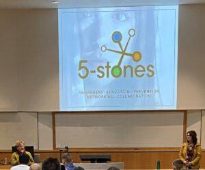 Julie Thiel delivering a presentation