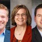 Aaron Steffenhagen, Sylvia Belford, and Philip Brummond