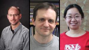 Professor Tim Bugni, Senior Research Specialist Douglas Braun, and Assistant Scientist Fan Zhang