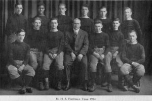 1914 Madison High School Football Team
