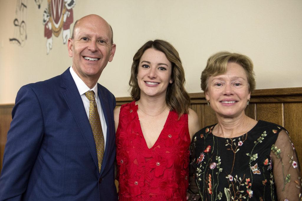 Emily Bollom and family