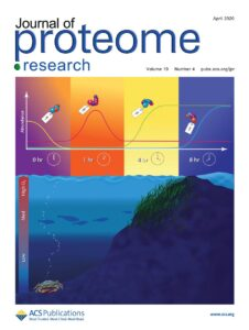 Cover of the April 2020 Journal of Proteome Research