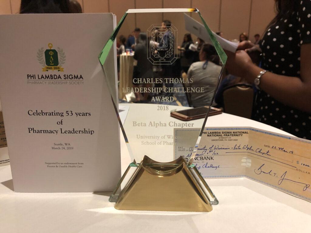 PLS Charles Thomas Leadership Award