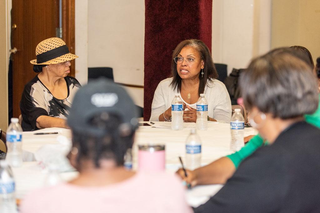 Peers Empowering Peers training at Cavalry Baptist Church in Milwaukee.