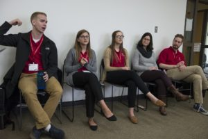 PharmD Student Panel at Preview Day