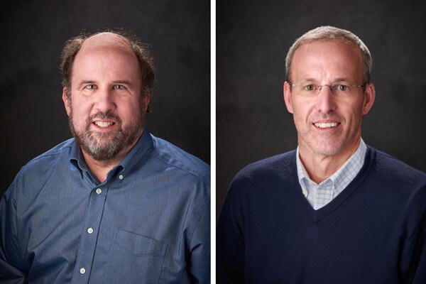 Assistant Professor Jay Ford and Professor David Mott