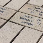 Kimberly Lintner's legacy brick