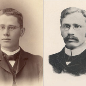 Edward Kremers in 1886 and 1985