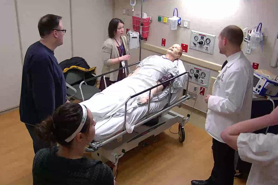 Alex Wontor and interprofessional health care team