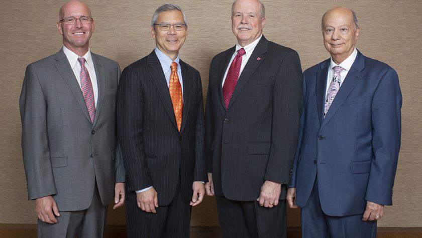 Chris Decker, Roger Tung, James De Muth, Ibrahim Jalal