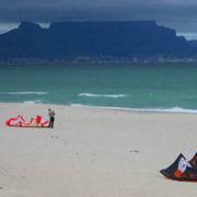 A sandy beach in South Africa