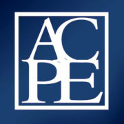 The Accreditation Council for Pharmacy Education logo.