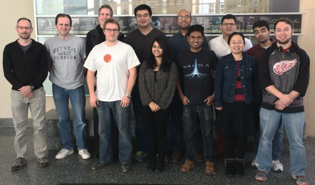 Members of the Bugni lab.