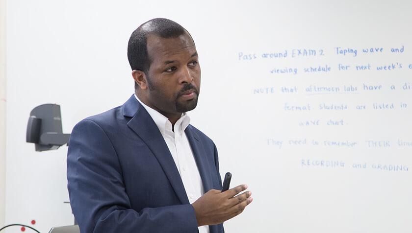 Alumnus Ephrem Abebe (MS '14, PhD '16)