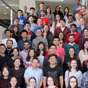Pharmaceutical Sciences PhD 2019 students