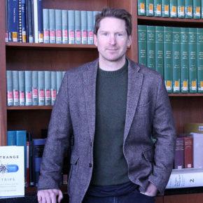 Lucas Richert, author of Strange Trips