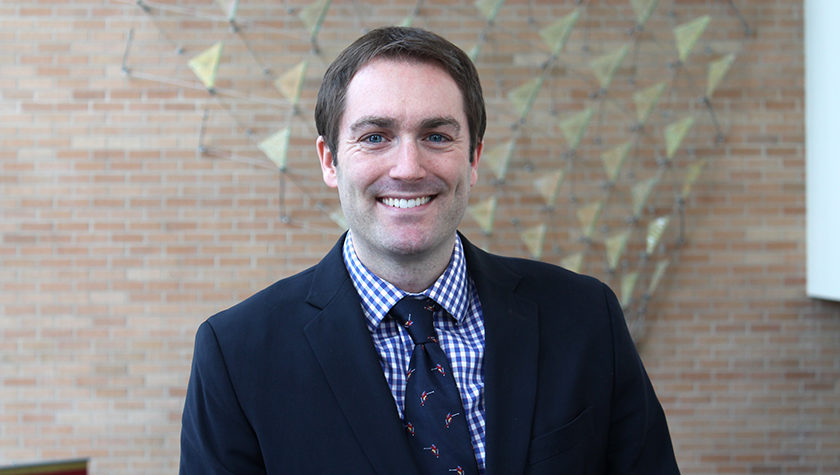 Portrait of Associate Professor Warren Rose