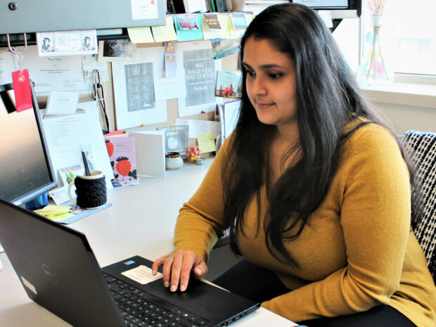 Tanvee Thakur, PhD candidate in the School's Health Services Research in Pharmacy program.