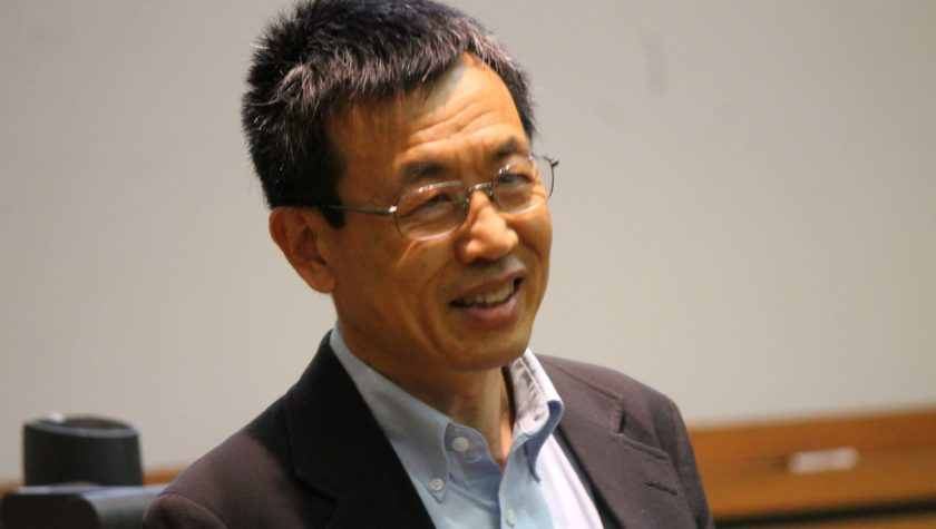 Professor Lian Yu of the School's Pharmaceutical Sciences Division