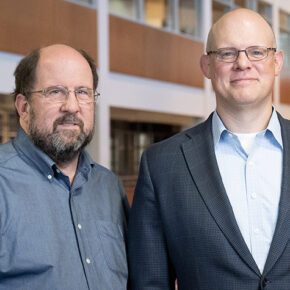 School of Pharmacy Assistant Professor Jay Ford and UW Department of Medicine Associate Professor Chris Crnich