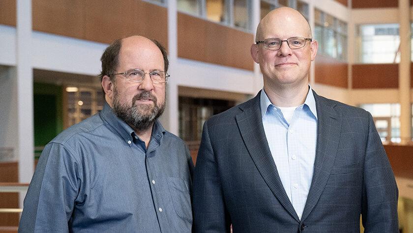School of Pharmacy Assistant Professor Jay Ford and UW Department of Medicine Associate Professor Chris Crnich