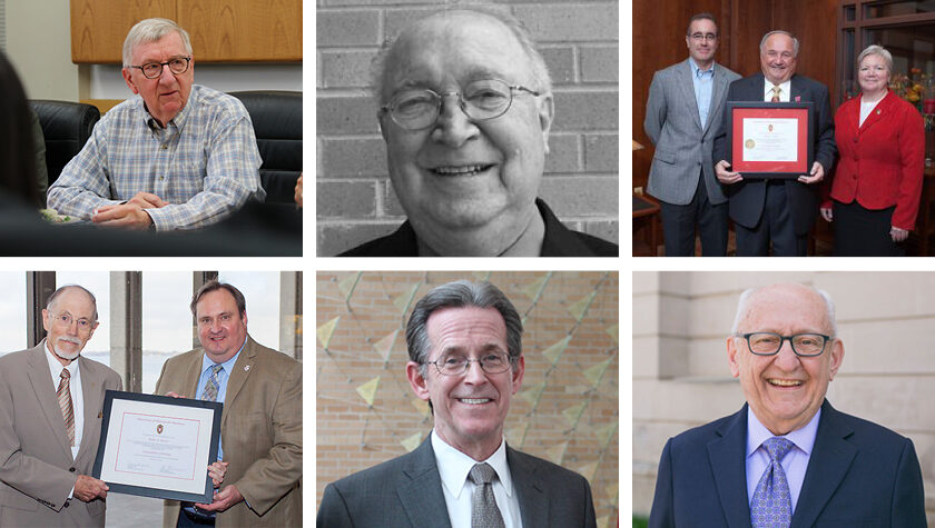 Six previous presidents of AIHP and AAPS.