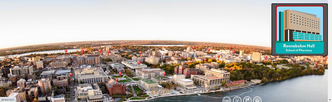 campus virtual tour map