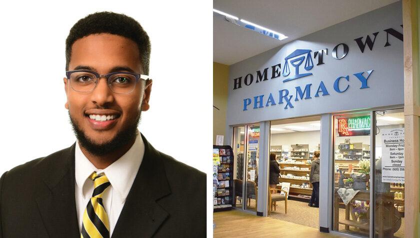 Ahamed Ahamed and the Hometown Pharmacy storefront