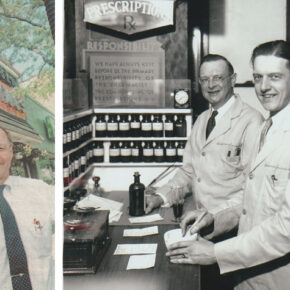 Bill Scharringhausen and his father, grandfather