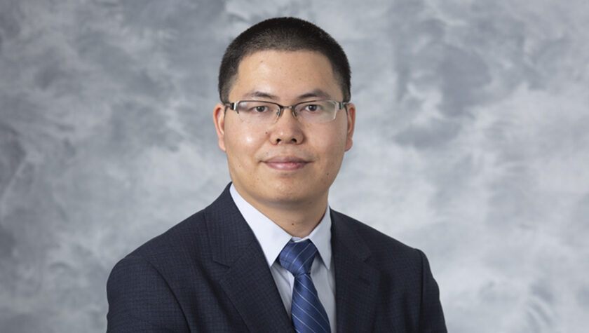 Assistant Professor Quanyin Hu, of the School of Pharmacy's Pharmaceutical Sciences Division.