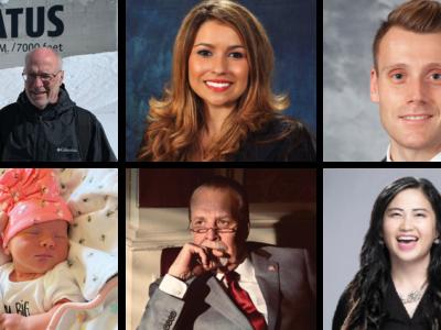 John Gloss, Melissa Ortega, Clayton Irvine, Steve Bartz' granddaughter, Ken Bressers, and Kajua Lor
