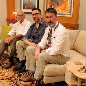 Paul Hutson, Christopher Nicholas, and Randall Brown
