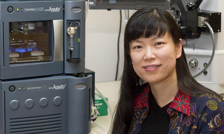 Dr. Lingjun Li, Pharmaceutical Sciences Division
