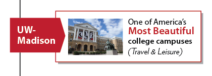 UW-Madison considered one of America's most beautiful college campuses (Travel & Leisure)