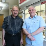 Dr. Sandro Mecozzi (left) and Dr. Michael Taylor (right).