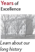 135 Years of Excellence - a long history