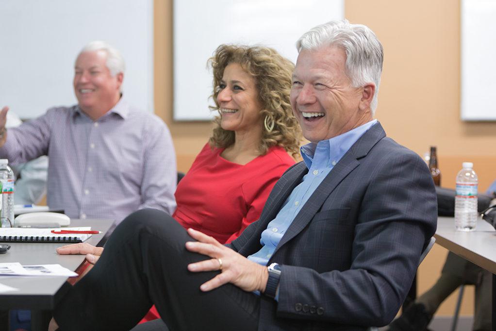 Dan Luce, Azita Saleki-Gerhardt, and George Zorich