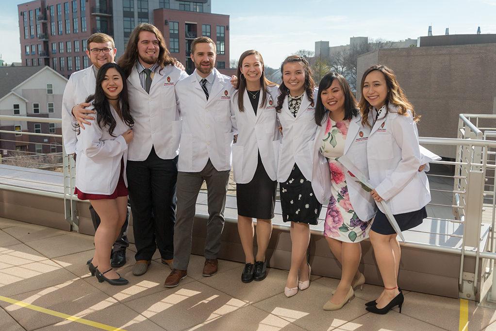 UW School of Pharmacy White Coat Ceremony 2018