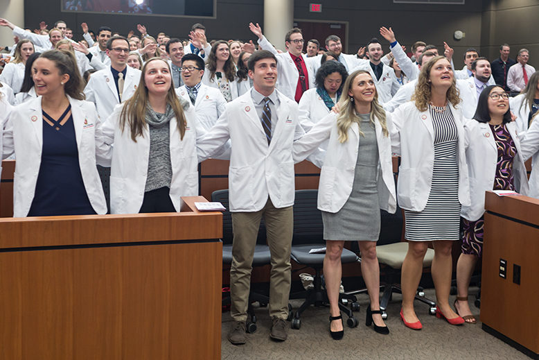 Student pharmacists are proud of what they have achieved in the School.