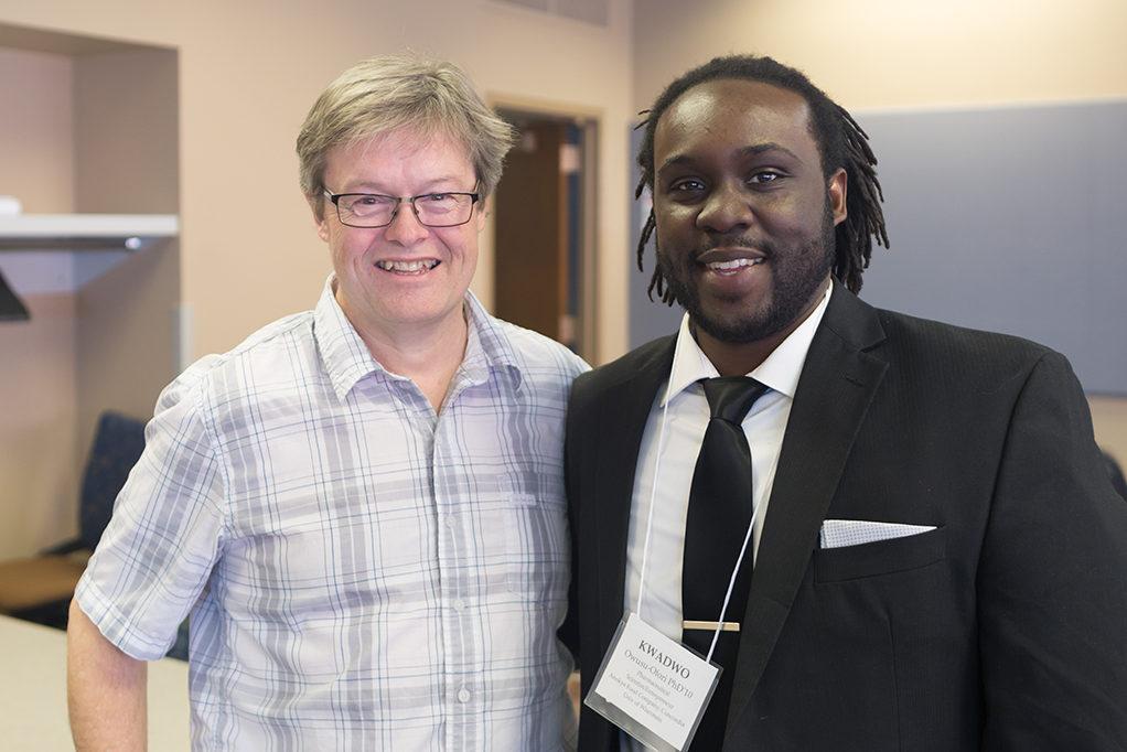 Chuck Lauhon and Kwadwo Owusu-Ofori.