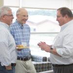 Michael Taylor, Ron Burnette, and Dean Steve Swanson